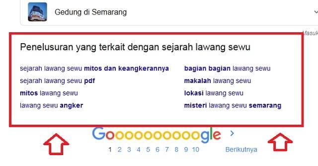 Manfaatkan Penelusuran Terkait Google