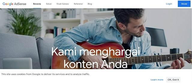 Keuntungan Menggunakan Google Adsense Untuk Monetisasi Blog